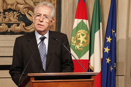 Italian economist and politician Mario Monti (AAP)
