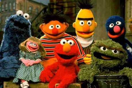 The cast of Sesame Street