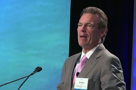 James Hackett is the boss of Anadarko, which wants to do deep sea drilling off New Zealand's coastline