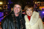 Meloni with former SVU co-star Mariska Hargitay (AAP)
