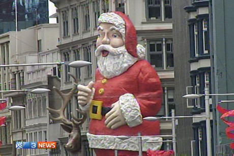 Queen Street's Santa has been a city institution for half a century