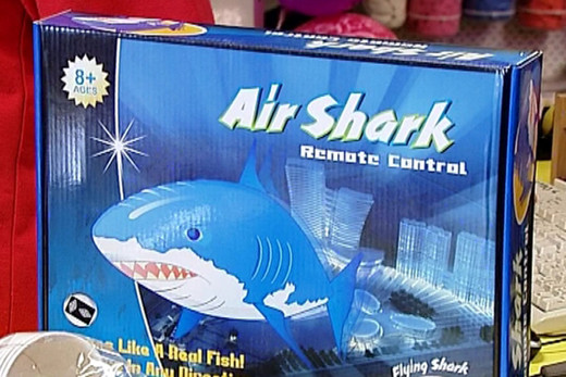 Sharks in the air
