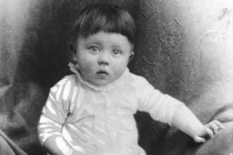 A young Adolf Hitler (supplied)
