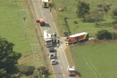 Ten passengers and the pilot have died after a hot air balloon crash in Carterton
