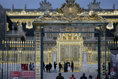 Versailles Castle's main gate (AAP)
