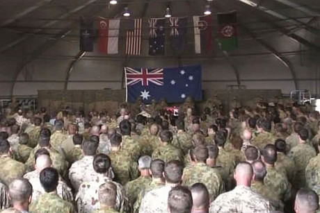 The soldiers had been returning from a nine-month posting in Afghanistan, where they lost a comrade in August