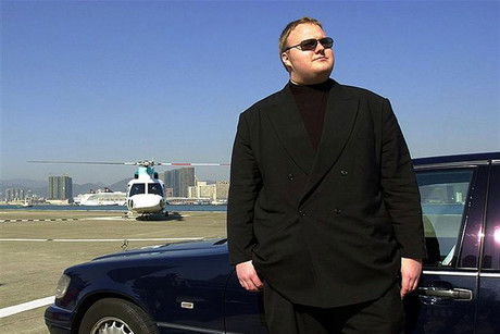 Kim Dotcom's net worth is not clear, but he made his money in the dotcom boom (Reuters)