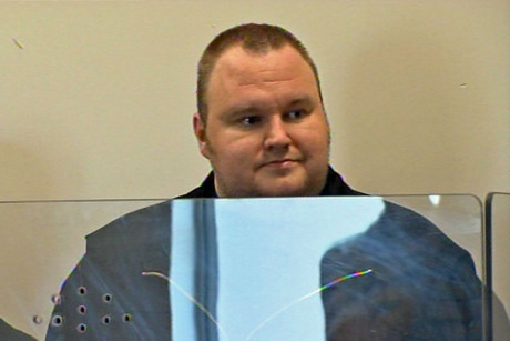 Kim Dotcom in North Shore District Court 
