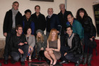 Marg Helgenberger & CSI Cast during the Walk of Fame Ceremony (AAP)