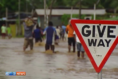 Two people have died from the Fiji floods