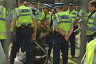 Occupy Auckland protester gets arrested