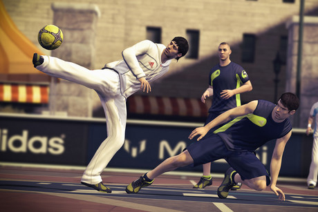 Screenshot from FIFA Street