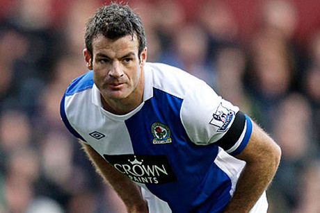 Blackburn's Ryan Nelsen is soon to switch to a Tottenham Hotspur kit (file pic)