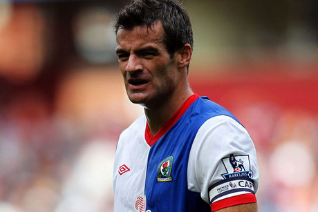 All White's captain Ryan Nelsen is making the move from Blackburn Rovers to Tottenham Hotspur (file pic)