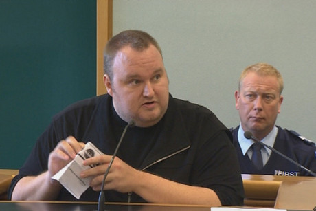Kim Dotcom has been denied bail