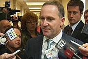 National leader John Key