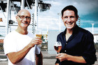 Geoff Ross, Moa Beer CEO (left) and Josh Scott, Moa Beer Founder