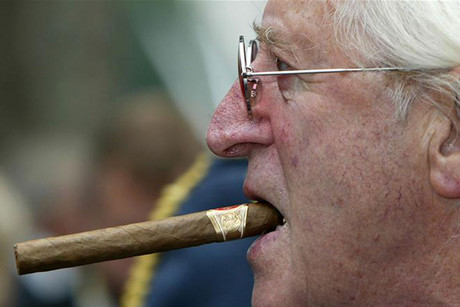 Jimmy Savile in 2005 (Reuters)
