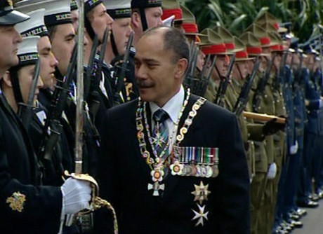 The Governor-General Lieutenant General Sir Jerry Mateparae