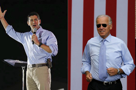 Paul Ryan and Joe Biden (Reuters)