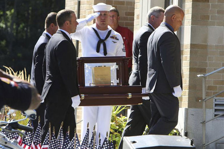 Glen Doherty's funeral (Reuters)