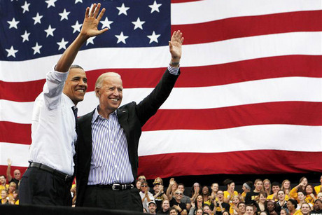 Barack Obama and Vice President Biden (Reuters)