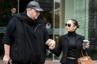 Megaupload founder Kim Dotcom and his wife Mona in Auckland (Reuters)