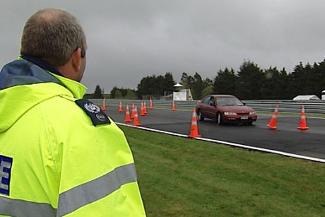 The course designed to put learner drivers in extreme conditions