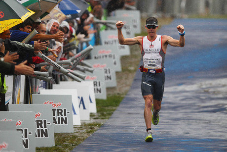 Cameron Brown wins his 10th Taupo Ironman (Photosport)