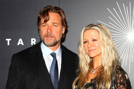 Russell Crowe and Danielle Spencer (AAP)