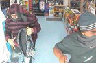 Police have released three still images taken from CCTV footage of the robbery (Photo: NZ Police)