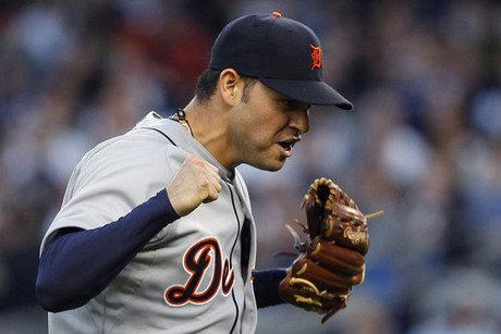 Detroit Tigers starting pitcher Anibal Sanchez (Reuters)