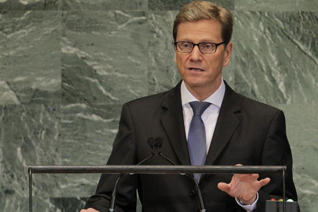 German Foreign Minister Guido Westerwelle (Reuters)
