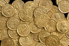 Collection of the coins discovered (St Albans City and District Council)