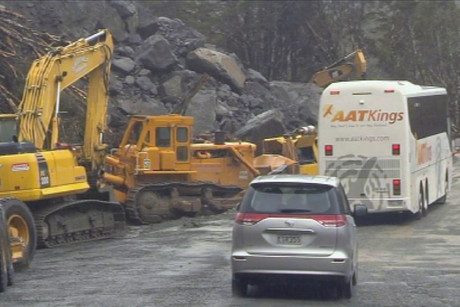 The road in and out of Milford Sound has been re-opened