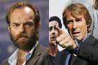 Hugo Weaving; Michael Bay (Photos: Reuters)
