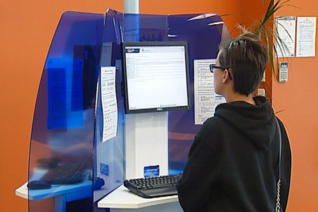 A security issue was found in the Work and Income kiosks last week