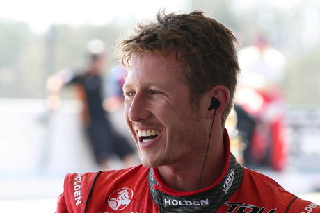 Ryan Briscoe of the Holden Racing Team (AAP)
