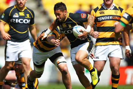The Lions playing Taranaki (Photosport)