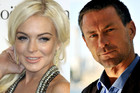 Lindsay Lohan and Grant Bowler (Photos: AAP)