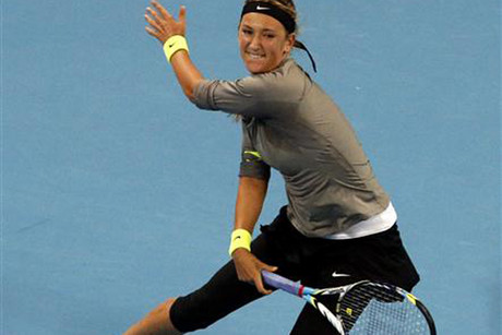 Top-ranked Victoria Azarenka (Reuters)