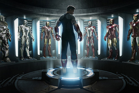 Poster art for Iron Man 3