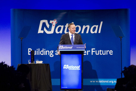 It appears people think John Key has more to do to achieve the brighter future (Photo: Jared Mason)
