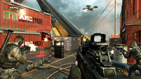 Call of Duty: Black Ops II multiplayer screenshot