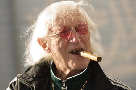 Jimmy Savile in 2010 (AAP file)
