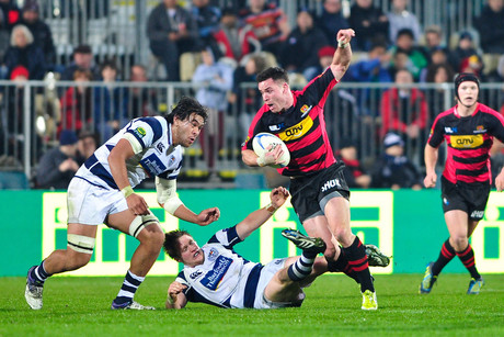 Auckland playing Canterbury in August (Photosport)