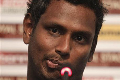 Angelo Mathews (Reuters file)