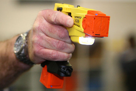Police say tasers work well (NZPA)