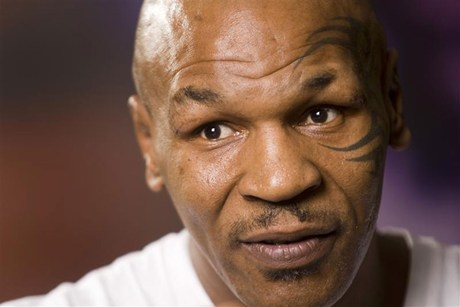 Mike Tyson was due to headline a motivational speaking night in Auckland in November (file)