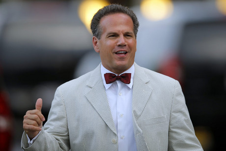 Openly gay U.S. Representative David Cicilline (D-RI) after the wedding of U.S. Representative Barney Frank (D-MA) and his long-time partner James Ready (Reuters/Brian Snyder)